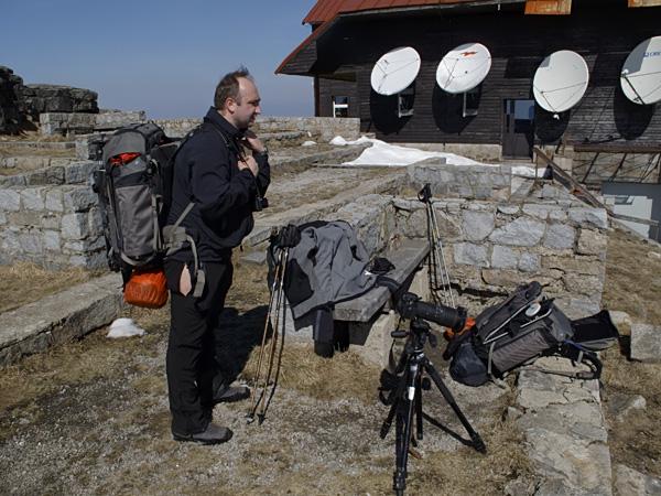 Przy stacji telewizyjnej (© Łukasz Kuczkowski)