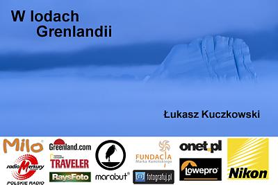 W lodach Grenlandii - plakat